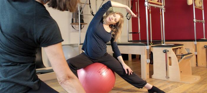 Karine Leurquin - Cours Pilates maternité Paris