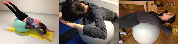 Pilates sur SWISSBALL - Karine Leurquin