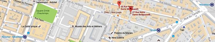 Karine Leurquin - nouveau studio Pilates rue Notre-dame de Nazareth, Paris