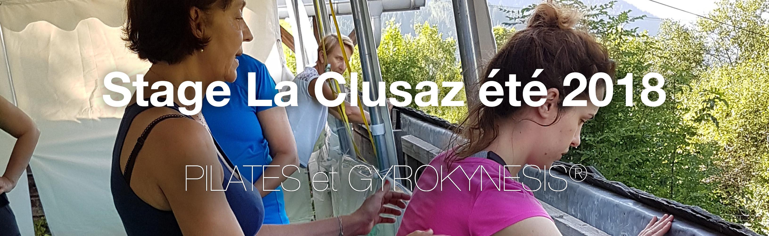 Session Pilates/Gyrokinesis et autres techniques corporelles à La Clusaz été 2018