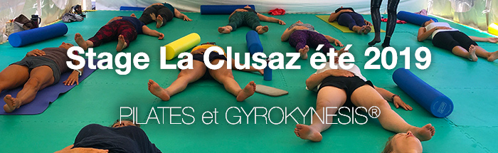 Stage PILATES et GYROKYNESIS® à La Clusaz fin juillet 2019
